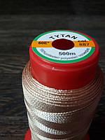 Нитка швейная TYTAN N60 887 цвет бежевый 500м. Турция