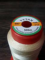 Нитка швейная TYTAN N60 217 цвет бежевый 500м. Турция