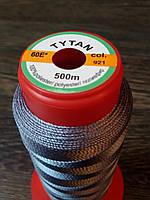 Нитка швейная TYTAN N60 921 цвет светло-серый 500м. Турция
