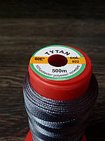 Нитка швейная TYTAN N60 922 цвет серый 500м. Турция