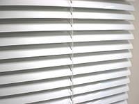 Горизонтальні алюмінієві жалюзі 25 мм (білі), фото 1
