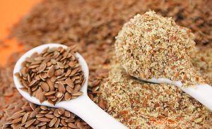 Органические семена и клетчатка