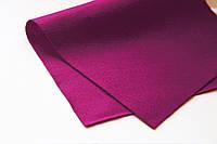 Фетр листовой 20*30см, мягкий (1,5мм толщина), HEYDA (Германия)100% вискоза, фиолет, фото 1