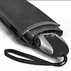 Зонт мужской Zest автомобильный, серый , плоский art.13891