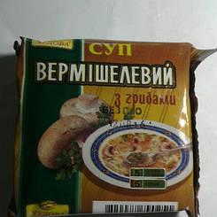 """Суп вермишелевый с грибами """"Чудова"""" брикет160 гр"""