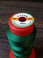 Нитка швейная TYTAN N60 A194 цвет зеленый 500м. Турция