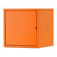 LIXHULT Шкаф, металлический, оранжевый