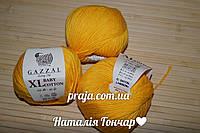 Gazzal cotton Baby XL - 3417 жовтий