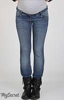 Стрейчевые узкие джинсы для беременных