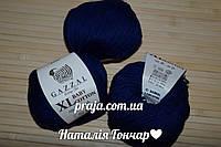 Gazzal cotton Baby XL - 3438 темно синій