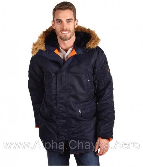 d34a0cf9 Куртка мужская Slim fit N-3b Alpha industries Аляска Оригинал ... alpha  industries