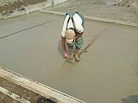 Устройство армированного бетонного основания