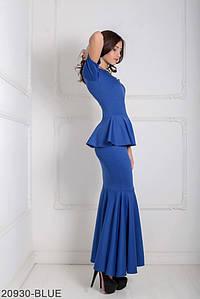 Женское платье Подіум Amalia 20930-BLUE XS Синий