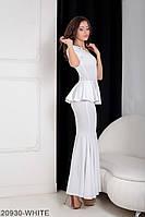 Женское платье Подіум Amalia 20930-WHITE XS Белый