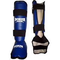 Защита голени и стопы из кожвинила Boxer M (bx-0051)