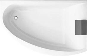 KOLO MIRRA ванна асимметричная 170*110 см, левая, с ножками, элементами крепления и подголовником, фото 2