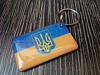 Заготовка-брелок для домофона RFID 5577 перезаписываемая Герб Украины