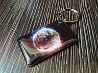 Заготовка ключа для домофона RFID 5577 перезаписываемая Горящая планета