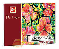 "Пастель масляная 24 цвета ""De Luxe"", Луч"