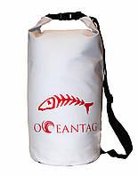 Сумка водонепроницаемая Oceantag White15L