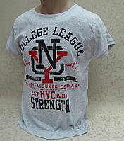 Модная  молодежная футболка, cotton 100%. Турция. Хлопковые турецкие футболки, футболки мужские и подростковые, фото 1
