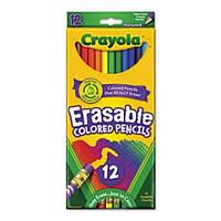 Карандаши цветные стирающиеся оригинальные Крайола Crayola