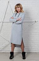 Женское спортивное платье Brand в casual-стиле из трикотажа двунитка 44-56 размеры