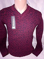 Мужской молодежный приталенный свитер 46-48рр