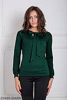 Женская блузка Подіум Gabriela 20480-DARKGREEN XS Зеленый
