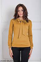 Женская блузка Подіум Gabriela 20480-MUSTARD XS Горчичный