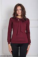 Женская блузка Подіум Gabriela 20480-BORDO XS Бордовый