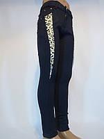 Осенние стрейчевые брюки леггинсы девичьи.Черного цвета.Возростная группа 6-16лет(122-158см).GOOD KIDS.Польша