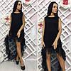 Платье / сетка, микродайвинг / Украина