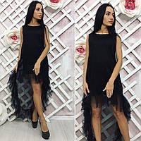 Платье / сетка, микродайвинг / Украина, фото 1
