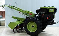 Дизельный мотоблок Зубр ручной с водяным охлаждением  JR-Q78-S 8 л.с