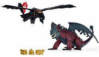 Набор фигурок Spin Master Как приручить дракона Битва Беззубика и Красной Смерти (SM66608)