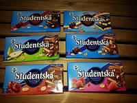 Шоколад студенческая (Studentska) (180гр), фото 1