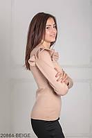 Кофти жіночі Подіум Жіноча кофта Подіум Balis 20864-BEIGE XS Бежевий