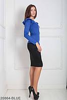 Кофти жіночі Подіум Жіноча кофта Подіум Balis 20864-BLUE XS Синій