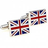 Флаг Великобритании - Оригинальные запонки
