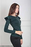 Кофти жіночі Подіум Жіноча кофта Подіум Balis 20864-DARKGREEN XS Зелений