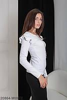 Кофти жіночі Подіум Жіноча кофта Подіум Balis 20864-WHITE XS Білий
