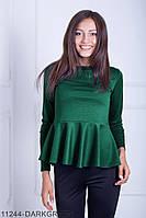 Кофти жіночі Подіум Жіноча кофта Fuller' Подіумs 11244-DARKGREEN S Зелений