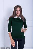 Кофти жіночі Подіум Жіноча кофта Подіум Bladder 13990-DARKGREEN S Зелений