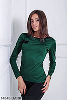 Кофти жіночі Подіум Жіноча кофта Подіум Tectona 14640-DARKGREEN S Зелений