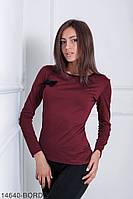 Кофти жіночі Подіум Жіноча кофта Подіум Tectona 14640-BORDO S Бордовий