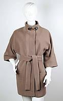 Пальто кашемировое KLAUDIYA №46-2 бежевое, фото 1