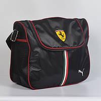 Спортивна молодіжна сумка через плече   Puma  ferrari