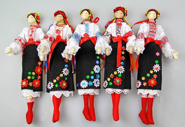 эксклюзивная кукла-украинка