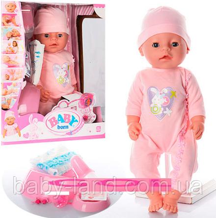 Кукла-пупс Baby born (Бэби берн) функциональный BL012D-S